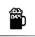 beer jar icon design vector image