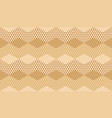 beige color geometric textured seamless pattern vector image