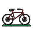 bike or bicycle icon image vector image vector image