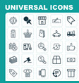 e-commerce icons set collection of price stamp vector image