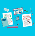office supply elements vector image