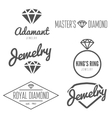 Set of logo emblem label print sticker or vector image vector image