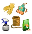 Set of tolls to care for the garden and home vector image