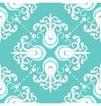 Vintage pattern with damask motifs vector image