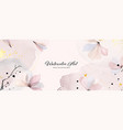 abstract background watercolor gentle pink flower