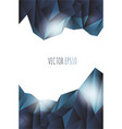 abstract lowpoly background eps 10 vector image