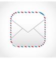 envelope mail design vector image