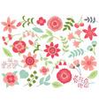 Floral Set vector image vector image