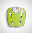 Fork and knife vector image