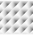 geometrical monochrome seamless circle pattern vector image vector image
