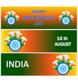 Independence day sale banner set sale header