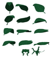 Isolated leaf vector image vector image