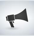loudspeaker icon stock flat design style vector image vector image
