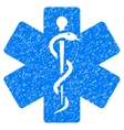 Medical Emblem Grainy Texture Icon