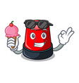 with ice cream sirine character cartoon style vector image vector image
