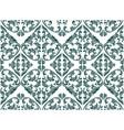 floral damask vector image