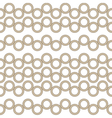 Brown circles seamless vector image