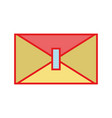 card symbol to send important message vector image vector image
