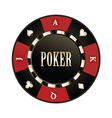 Casino Poker chip vector image