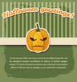 halloween festive abstract poster vector image vector image
