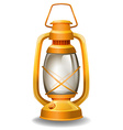 Oil lamp vector image vector image