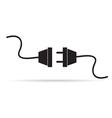 power cord vector image vector image