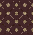 royal baroque seamless pattern vector image vector image