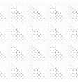 seamless geometrical monochrome circle pattern vector image vector image