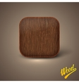 Background with wood texture icon template
