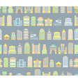 City background Buildings Skyscrapers and public vector image vector image