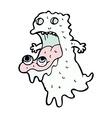 Comic cartoon gross ghost