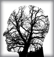 Man tree icon alt vector image vector image