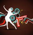 music artwork vector image