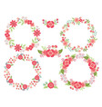 Pink Wreath Set