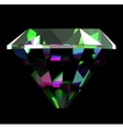 Shiny and bright diamond vector image vector image