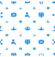 social icons pattern seamless white background vector image vector image
