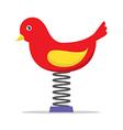 Spring Playground Bird vector image vector image