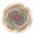 swirl disco vector image