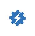 universal energy tech rapid app icon symbol vector image vector image