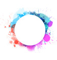 watercolor imitation multicolored background vector image vector image
