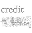 be wary of phony credit scams vector image vector image