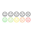 feedback concept rank level satisfaction vector image