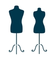 Mannequins vector image vector image