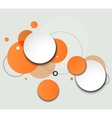 Modern Design Circle template vector image vector image