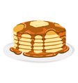 Pancake vector image vector image