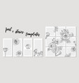 trendy template for social networks stories and vector image vector image