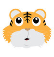 avatar of tiger vector image
