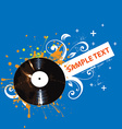 Bright Music Backgound vector image vector image