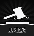 judge design vector image