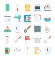 Kitchen Colored Icons 2 vector image vector image